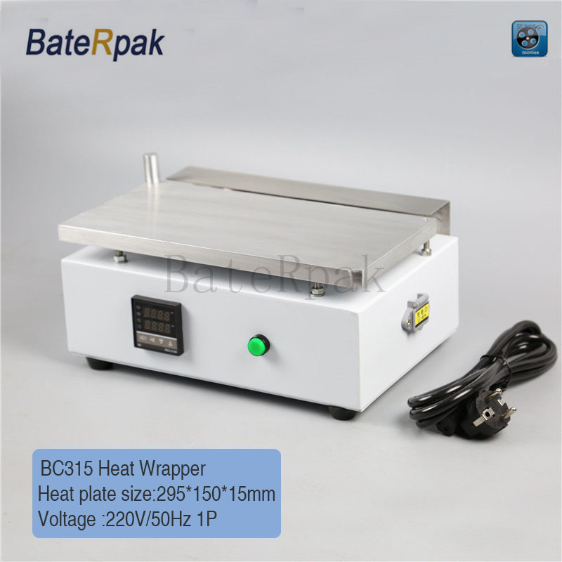 BC315 BateRpak Cellophane Wrapping Machine,Cigarettes,cosmetics,poker Box Blister Film Packaging Machine,blister Sealing Machine