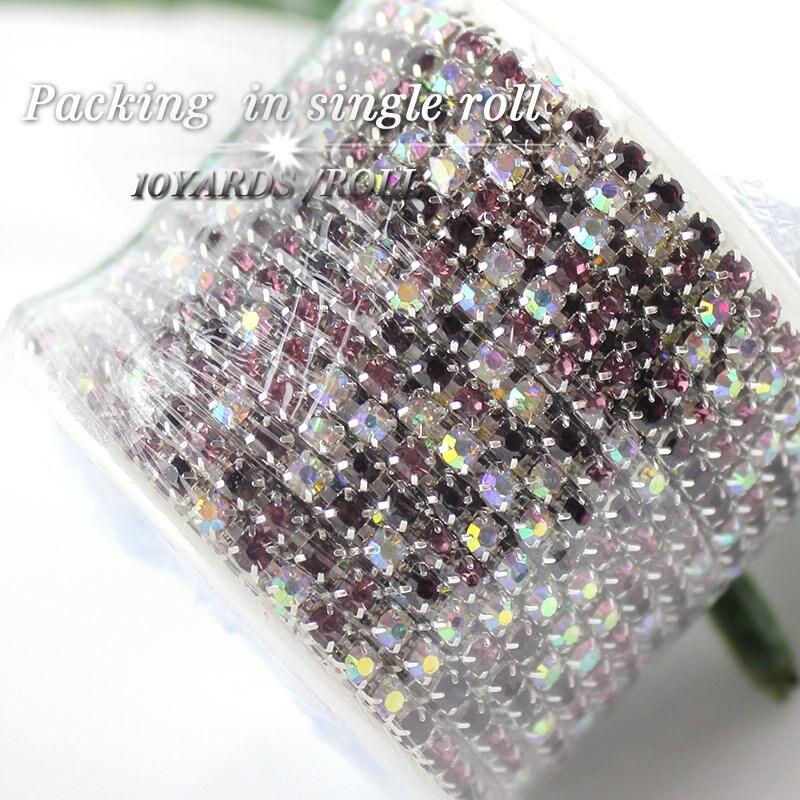 QIAO nove ponude Crystal vještački dijamant DIY ljepota SS12 10 - Umjetnost, obrt i šivanje - Foto 5