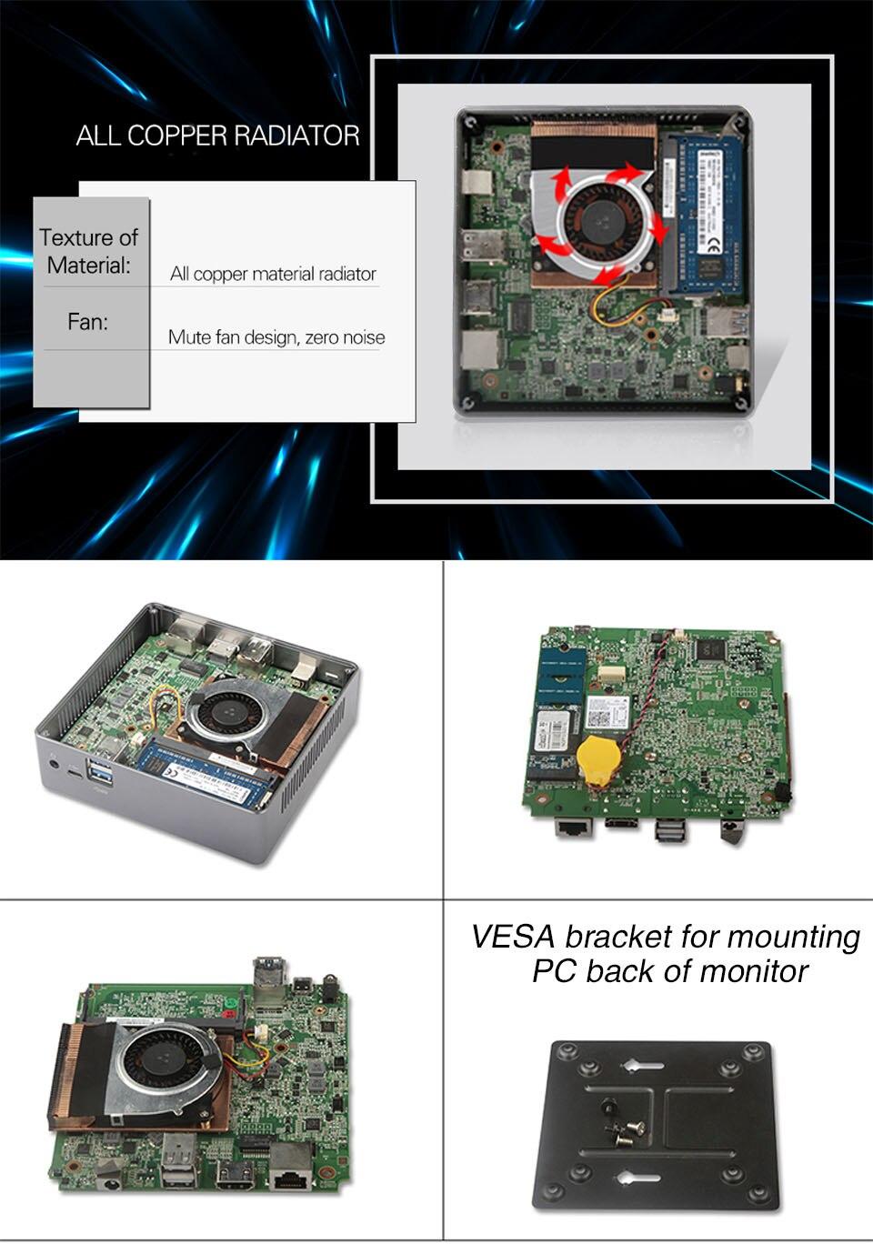 Mini PC 4K 18