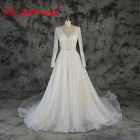 champagne and ivory full beading design wedding dress new luxury shining wedding gown custom made wholesale price bridal dress