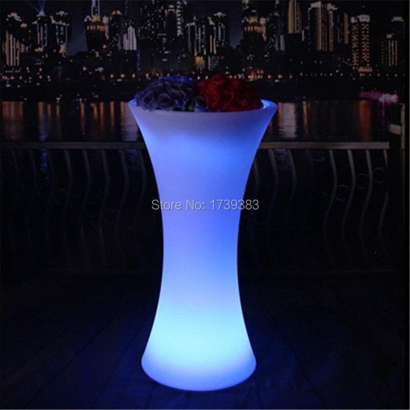 CantonTower colorful led flower pot (2)