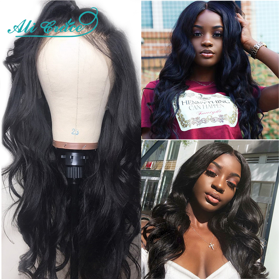 Ali Grace 130 150 Density 13 6 Lace Front Wig Pre Plucked With Baby Hair Body
