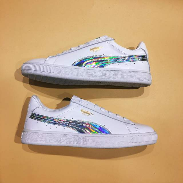 bdc24566bf1387 placeholder The new Puma Suede Classic Basket LFS classic Cortez series  campus style badminton shoes