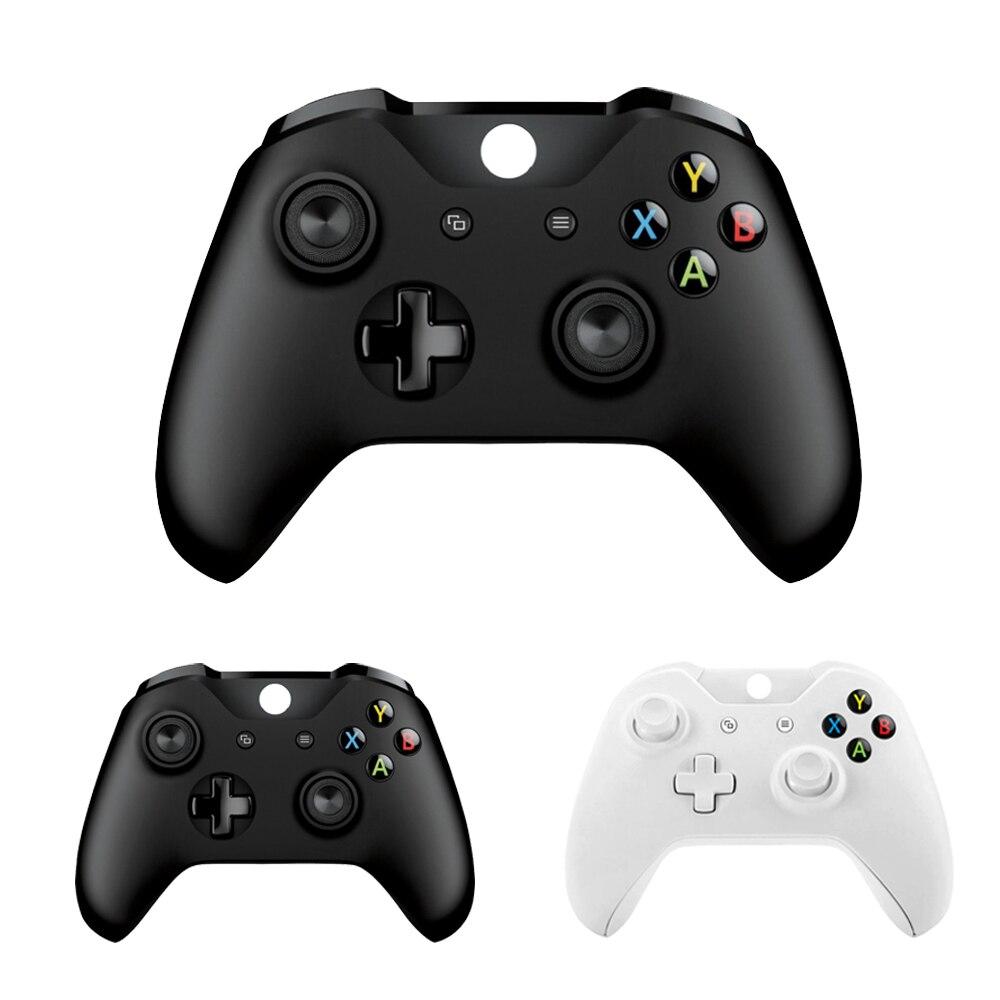 Wireless Controller Para Microsoft Xbox Um Controlador de Computador PC Controle Mando Para Xbox One Console Magro Gamepad PC Joystick