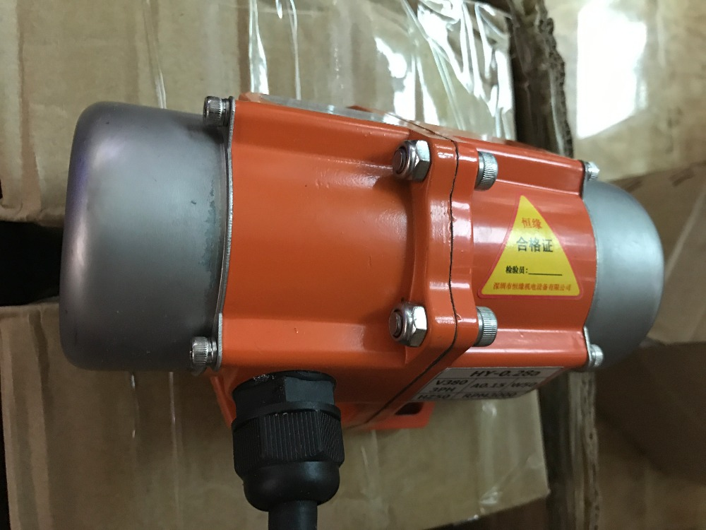 15W/20W Mini Horizontal Vibrating Motor 220V/110V/380V Warehouse Wall Vibrator 380v big power 1 1kw aluminum alloy concrete vibrator vibrating motor