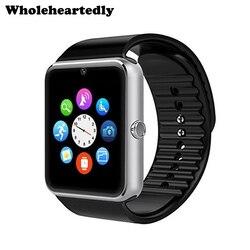 Nouvelle montre intelligente montre intelligente horloge notifiant avec fente pour carte Sim connectivité Bluetooth pour téléphone Apple iphone Android