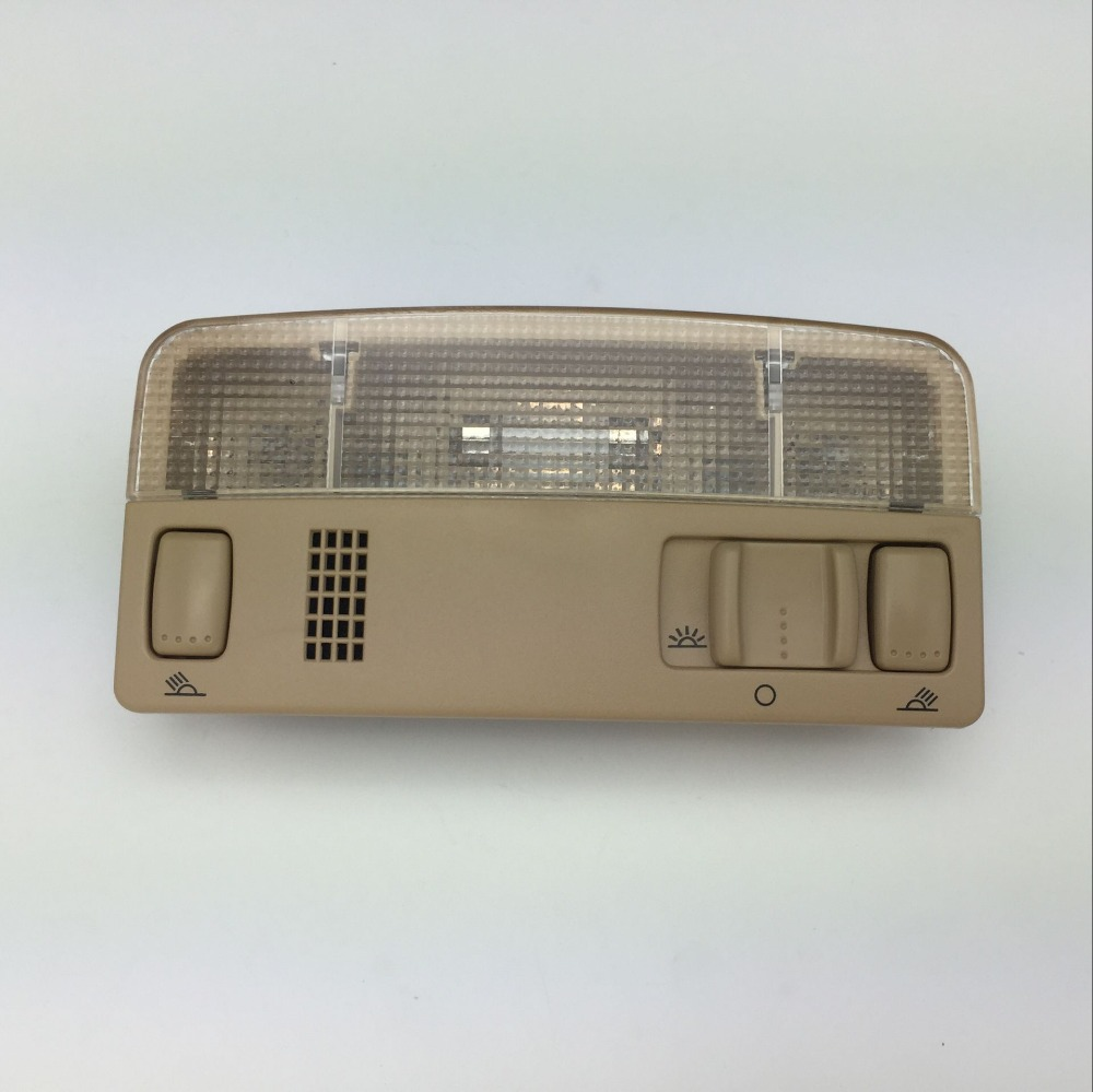 Image 3 - for VW Passat B5 Polo Touran Golf MK4 Skoda Octavia Dome Reading Light Beige or Gray Color Lamp 1TD 947 105 3B0 947 105 C-in Interior Door Panels & Parts from Automobiles & Motorcycles