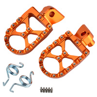 MX Foot Pegs Rest Pedals Footrest For KTM EXC SX SXF XC XCF EXCF EXCW XCFW MX SIX DAYS 65 85 125 200 250 300 350 400 450 525 530