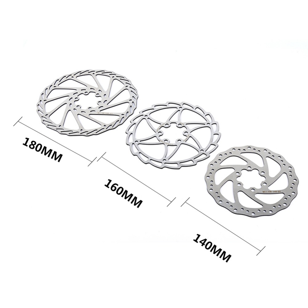 1pair Ultralight Stainless Steel Bicycle Disc Brake Rotor Mtb Road Parts Diagram Bike Pads 140mm 160mm 180mm Optional With Scews In From
