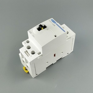 Image 3 - TOCT1 2P 63A 220V/230V 50/60HZ Din rail Household ac Modular contactor with Manual Control Switch 2NO or 1NO 1NC or 2NC