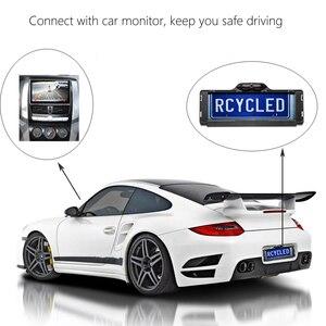 Image 3 - Podofo parktronik ab araba plaka çerçevesi dikiz kamera 170 derece geri geri görüş kamerası park yardımı araba Styling