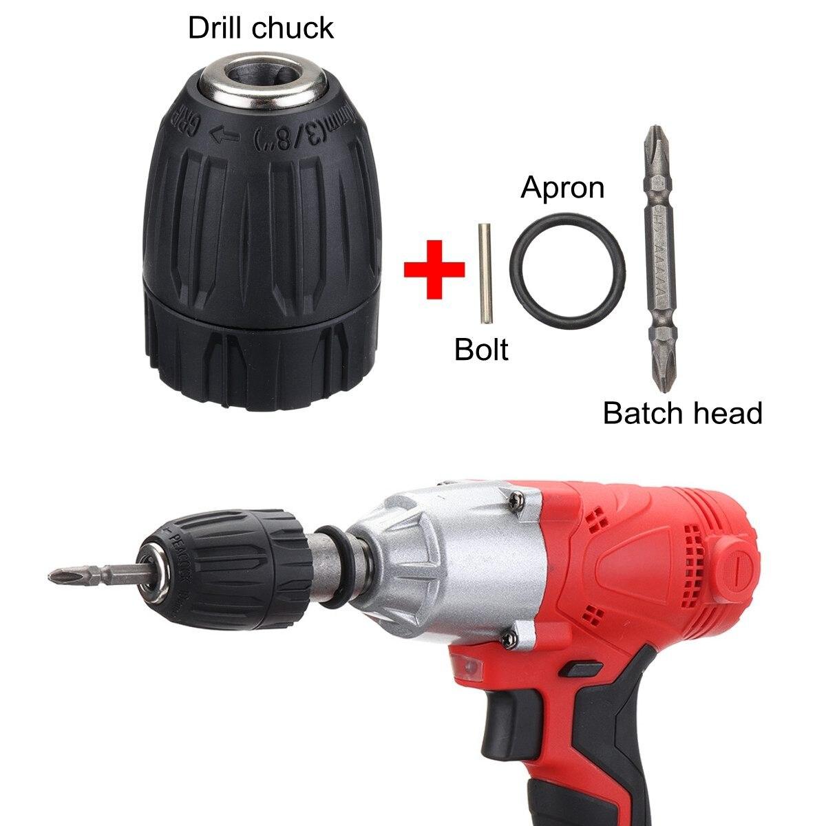 cabeça soquete conjunto kit drill chuck drive