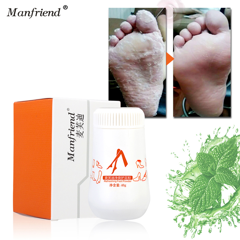 Foot Powder Treatments Solution Foot Odor Foot Sweat Itching Bacteria Removal Blisters Cutin dehulling Skin Care Feet Cream