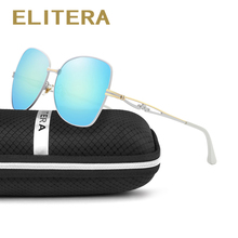 ELITERA New Fashion Women Glasses Brand Designer Polarized Women Sunglasses Summer Shade UV400 Sunglasses men Oculos