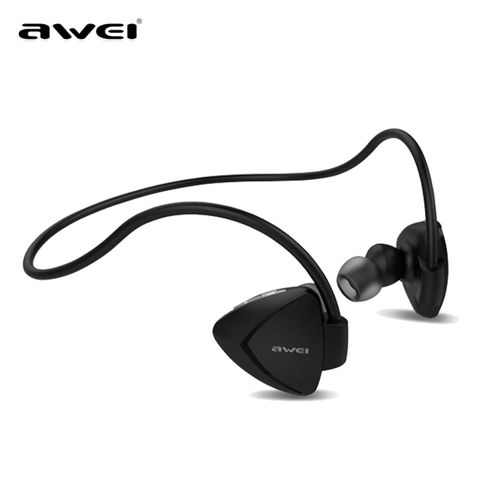 Awei Sport Earbuds In-Ear Cordless Wireless Headphone Blutooth Headset Auriculares Bluetooth Earphone For Your In Ear Phone Buds awei wired headset headphone in ear earphone for your ear phone buds iphone samsung earbuds earpiece smartphone player computer