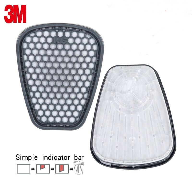 Respirator Cartridge 2pcs 6001CN Organic For 6000 7000 high quality 2018 useful