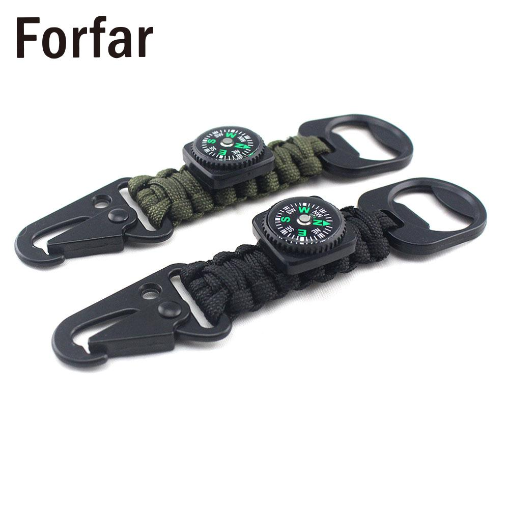 Compass Outdoor Sports Camping Bracelet Outdoor Living Durable Wristband Survival Outdoor Tool Survival Bracelet