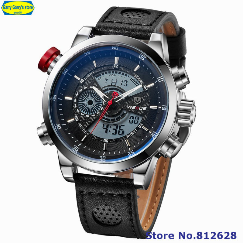 New Arrival Weide Men's Casual Wristwatches Milita...