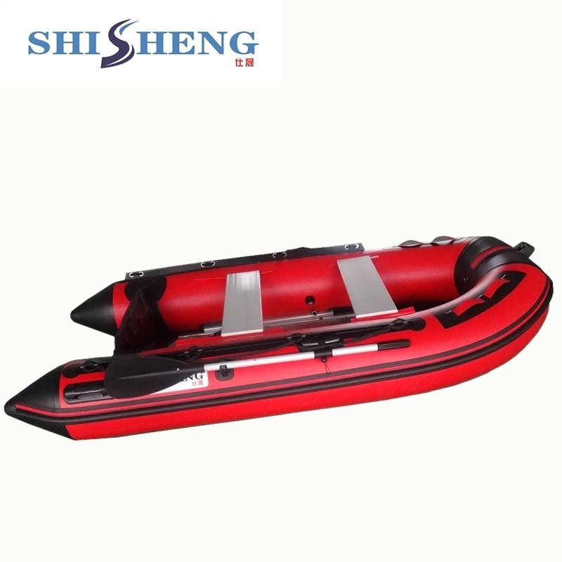 Bateau en caoutchouc de bateau gonflable de SHICHENG de fabrication célèbre bateau de PVC