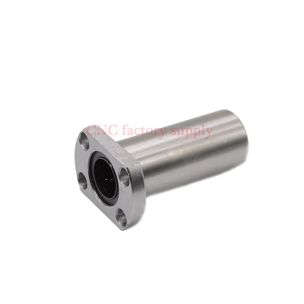 Free shipping LMH25LUU 25mm long type flange linear bearing CNC Linear Bush 42l w025 free shipping long type lmk40 luu 40 60 154mm 40mm square flange long linear bearing for cnc parts