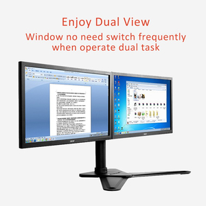 """Image 4 - 데스크탑 듀얼 스위블 풀 모션 모니터 마운트 홀더 스탠드 듀얼 모니터 스탠드 암 2 개 10 """" 30"""" LCD 최대 지원 암 당 10KG"""
