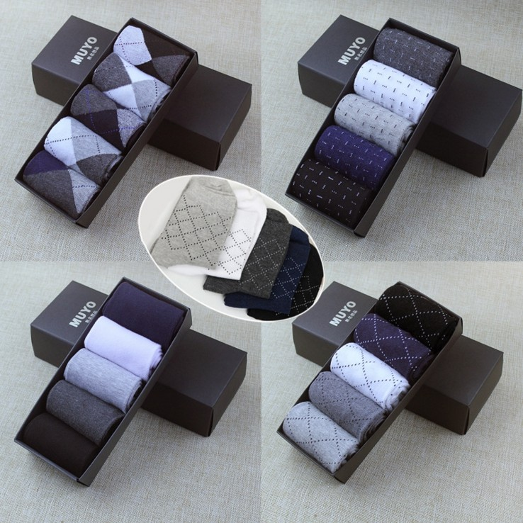 10pcs/lot High Quality Spring Summer Men Brand   Socks   Fashion Business Men's   Socks   Cotton Multi Color Male Classic   Socks