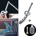 camaTech Cleaning Anal Plug Enema Shower Head Anus Douche Nozzle Tip Wash Vagina Colonic Cleaner Faucet Adjustable Speed Sex Toy