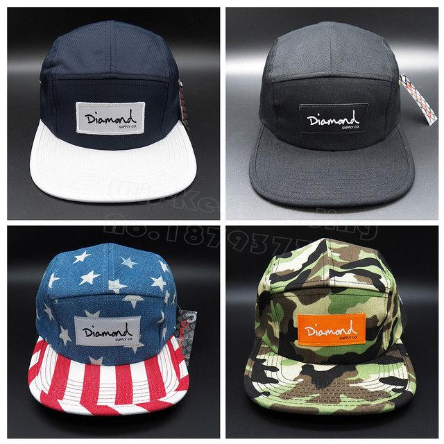 Real Picture 2015 Hot five 5 panel diamond snapback hats hip hop flat baseball  caps casquette gorras planas bone aba reta bones 60725642873d
