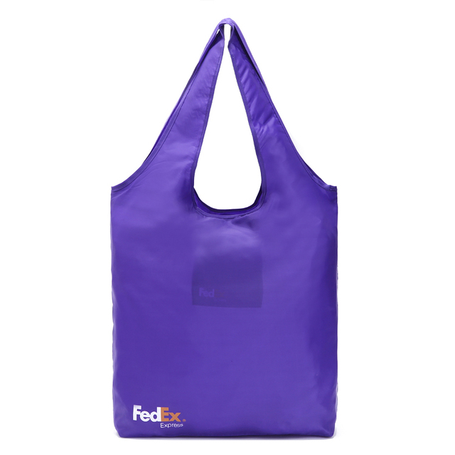 210D Nylon Blue Foldable Grocery Totes Promotional Shopping Bags Available  for Custom Bags a33d11a2d