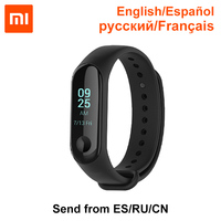Xiaomi Mi Band 3 English Spanish 0.78 inch OLED Notification Receive Call Reminder 50m Waterpfoof Weather Display Mi Bracelet