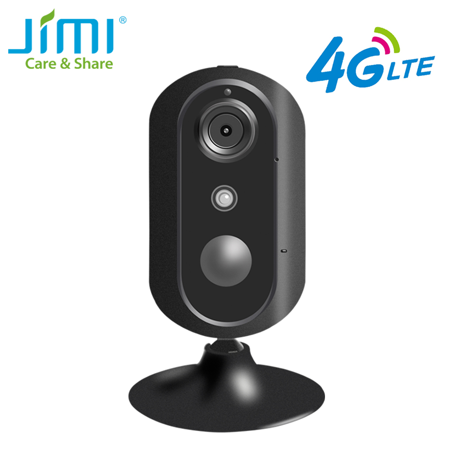 Jimi Newly JH007 4G Mini Indoor HD IP Camera Wireless Audio Record Surveillance Night Security CCTV