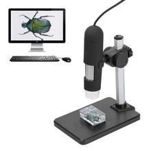 1000X Зум Usb-микроскоп 8 LED Компактный Эндоскоп Лупа Цифровая Видеокамера Микроскоп с Взлет и Падение Держатель Третьей Стороны
