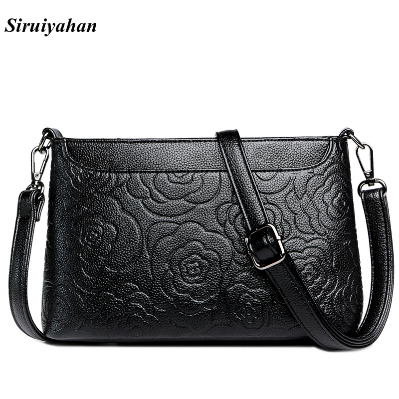 Siruiyahan Luxury Handbags Women Bags Designer Genuine Leather Bag Female Shoulder Bags Women Handbag Bolsa Feminina 2017 fashion shoulder handbag litchi genuine leather luxury ladies handbags women bags female designer bag bolsa feminina sac