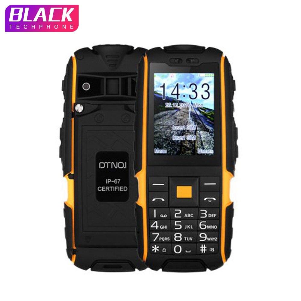 DTNO. ICH A9 handy IP67 Wasserdicht stoßfest telefon Dual SIM handy 4800 mah Drahtlose FM taschenlampe mit Russische tastatur