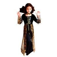 فتاة الرعب اللباس الفنتازيا هالوين ازياء disfraces جدي البنت زي مصاص الدماء تأثيري ساحرة زي اللعبة
