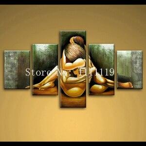 Картина маслом, ручная работа, абстрактная, ручная работа, краска для каллиграфии