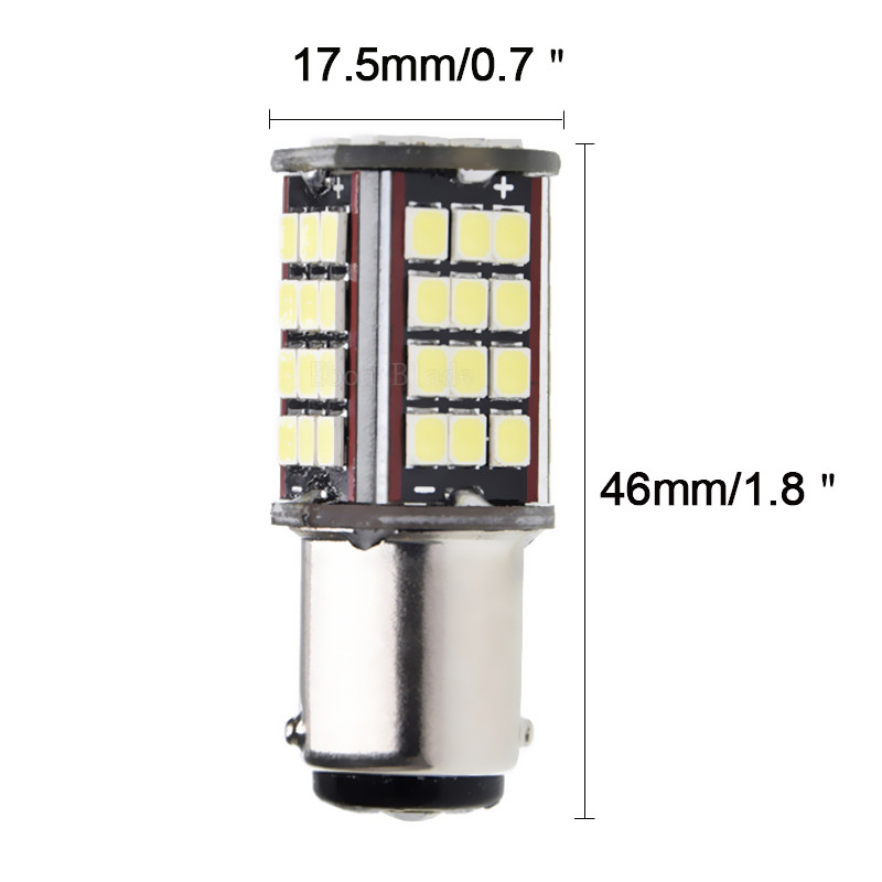 Image 3 - 10Pcs 1157 BAY15D P21/5W LED Car Motorcycle Bulb 6V DC 840LM Motorbike Tail Brake Stop Parking LED Light Lamp White Dual Beam-in Signal Lamp from Automobiles & Motorcycles