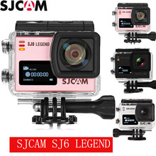 Original SJCAM SJ6 LEGEND 4K Action Camera Gyro Sensor WiFi Dual Screen Max 128G Storage With LTPS Touch Screen Display