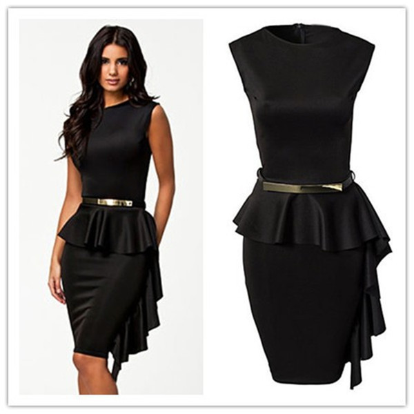 Ruffles Lace Fringed Dress Vestido De Renda Curto Black Draped ...