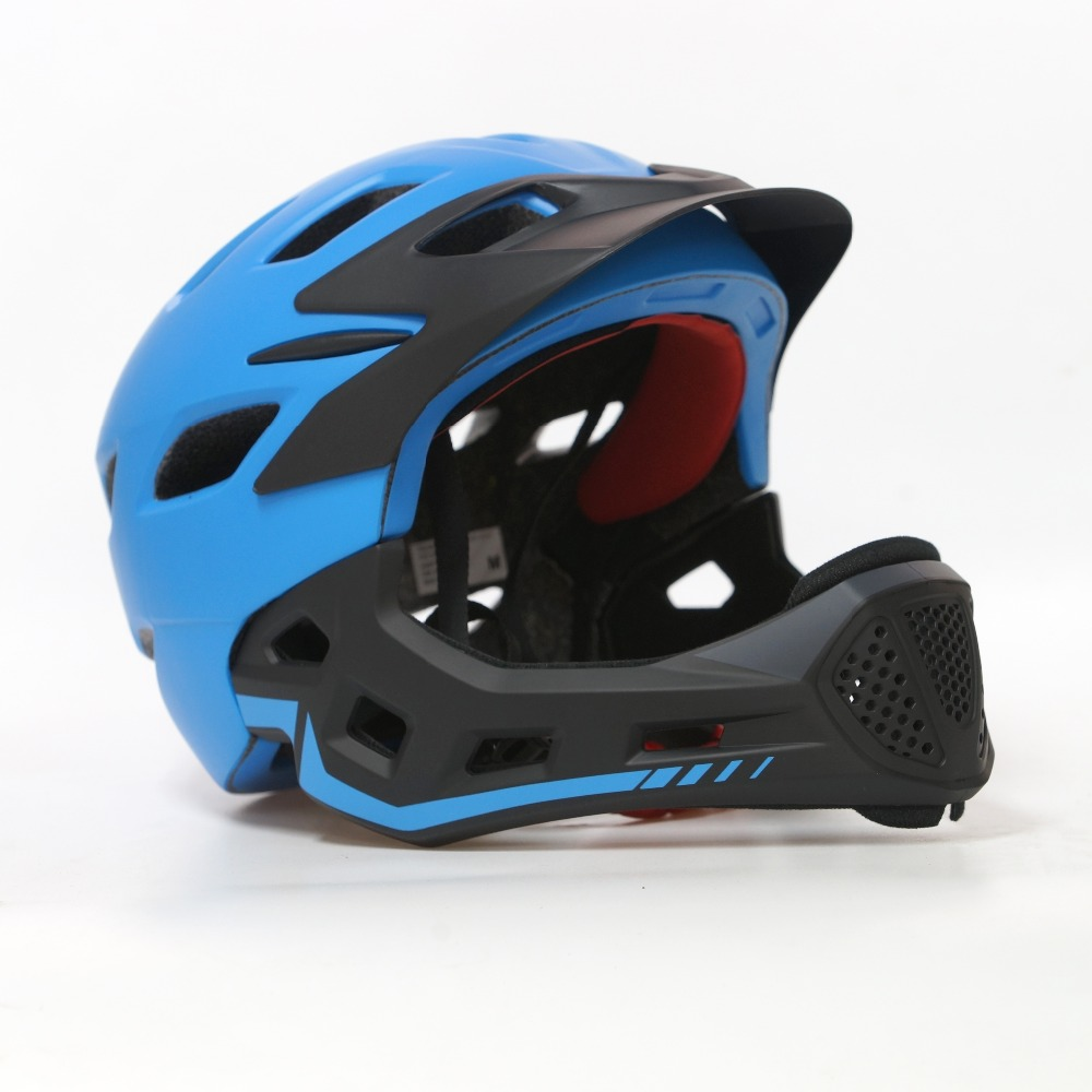 Integrally-molded cycling helmet kids 2019 full face road bike helmet casco MTB aero bicycle children mountain cycle BMX racing