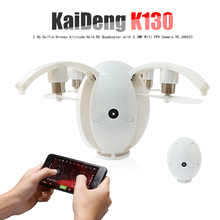 KaiDeng K130 Foldable Transformable Egg Dron 2.4G Selfie Drones Altitude Hold RC Quadcopter with 0.3MP Wifi FPV Camera VS JXD523(China)