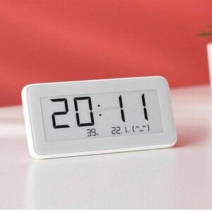 Image 2 - Xiaomi Mijia BT4.0 sans fil intelligent électrique horloge numérique intérieur et extérieur hygromètre thermomètre LCD température outils de mesure