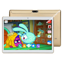"Android 7.0 Octa Core Tablet PC 10 Inch 1280*800 Layar Sentuh 10 ""10.1"" 4G LTE dual Sim Tablet Wifi FM + Hadiah(China)"