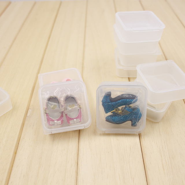Neo Blythe Doll Storage Box For Shoes & Jewelry