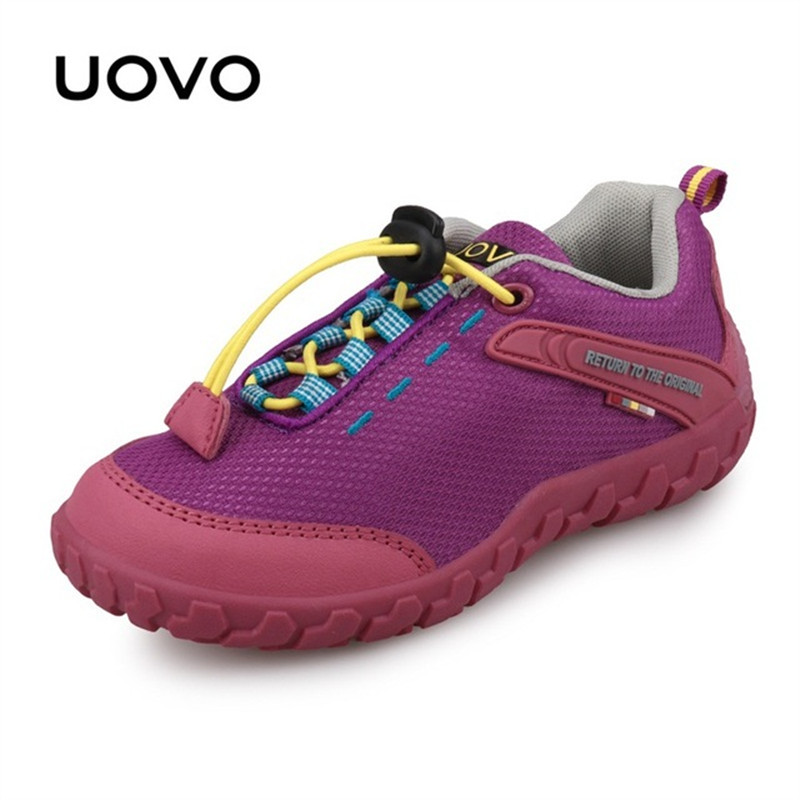 UOVO Children Shoes Racing Style Boys Kids Shoes Breathable Shoes for Little Boys & Girls Kids Sneakers Autumn Shoes Eur28-35 uovo 2016 outdoor nonslip boys shoes kids breathable baby children shoes girls shoes tenis infantil chaussure fille size 26 35