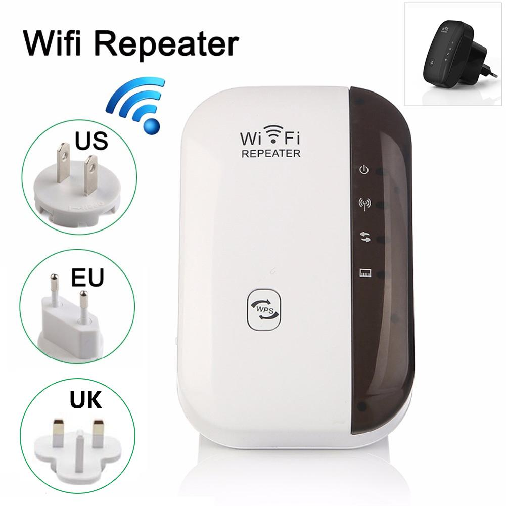 Wireless Wifi Repeater Wifi Extender Acess Point AP 300Mbps Wifi Signal Amplifier Wireless Signal Booster Extender 802.11nbg WPS image