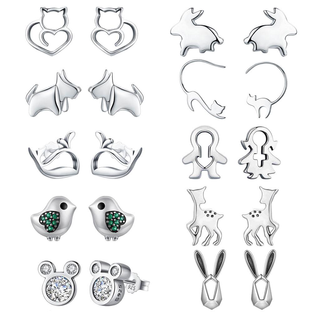 Trusta 100% 925 Sterling Silber frauen Mode Nette Tiny
