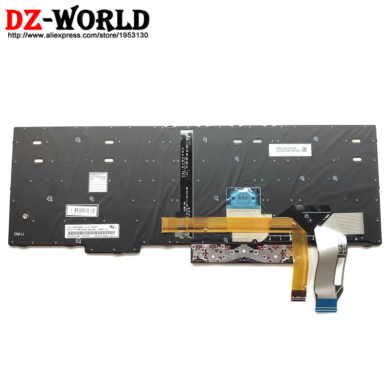Image 2 - New/Orig US English Backlit Keyboard for Lenovo Thinkpad  E580 