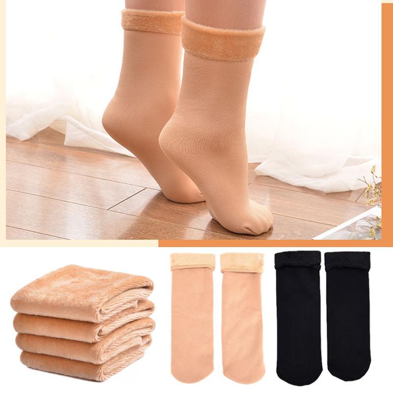 Женские носки, толстые дышащие спортивные носки, Утепленные зимние сапоги