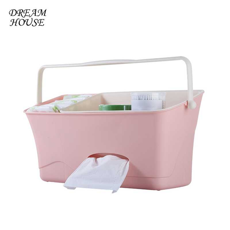 Bed Baby Bed Diaper Organizer Hanging Organizer for Baby Crib Storage Bag Newborn Paper Towels Pocket for Crib Bedding Supplies